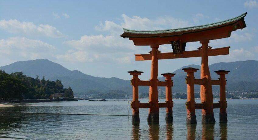 torii itsukushima